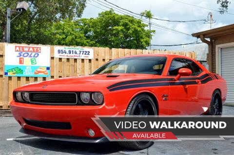 2009 Dodge Challenger for sale at ALWAYSSOLD123 INC in Fort Lauderdale FL