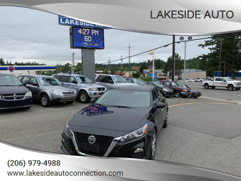 2019 Nissan Altima for sale at Lakeside Auto in Lynnwood WA