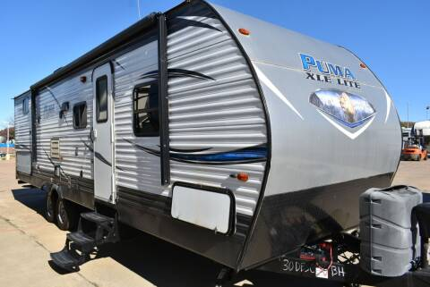 2018 Forest River Puma 32QBD for sale at Buy Here Pay Here RV in Burleson TX