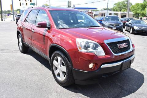 2010 GMC Acadia for sale at World Class Motors in Rockford IL