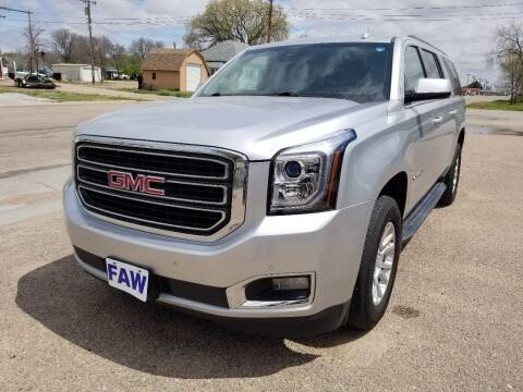 2016 GMC Yukon XL for sale at Faw Motor Co - Faws Garage Inc. in Arapahoe NE