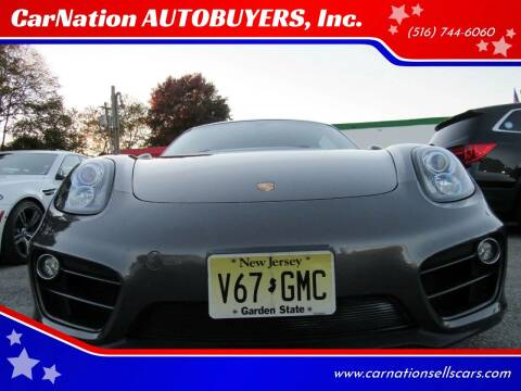 2014 Porsche Cayman for sale at CarNation AUTOBUYERS, Inc. in Rockville Centre NY
