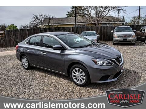 2018 Nissan Sentra for sale at Carlisle Motors in Lubbock TX
