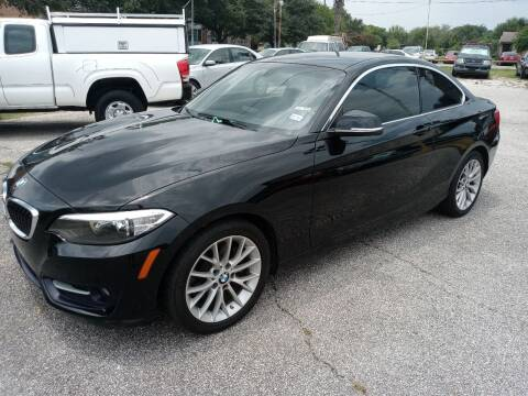 2016 BMW 2 Series for sale at RICKY'S AUTOPLEX in San Antonio TX