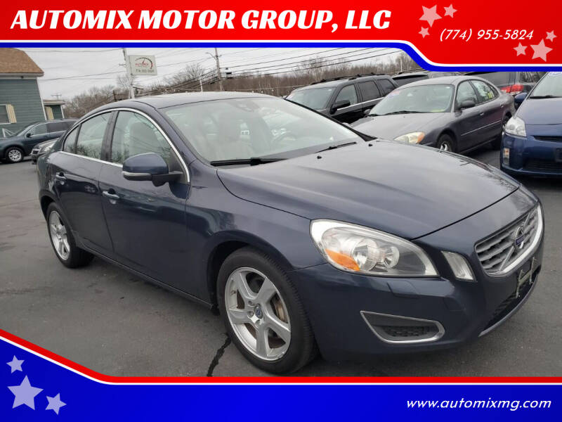 2013 Volvo S60 for sale at AUTOMIX MOTOR GROUP, LLC in Swansea MA