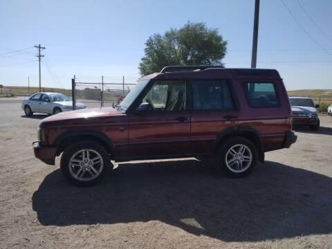 2004 Land Rover Discovery for sale at PYRAMID MOTORS - Pueblo Lot in Pueblo CO