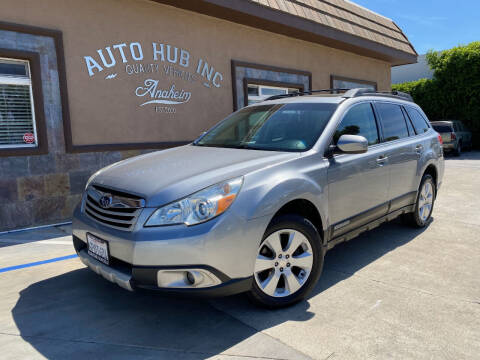 2011 Subaru Outback for sale at Auto Hub, Inc. in Anaheim CA