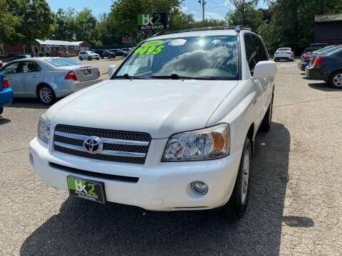 2006 Toyota Highlander Hybrid for sale at BK2 Auto Sales in Beloit WI