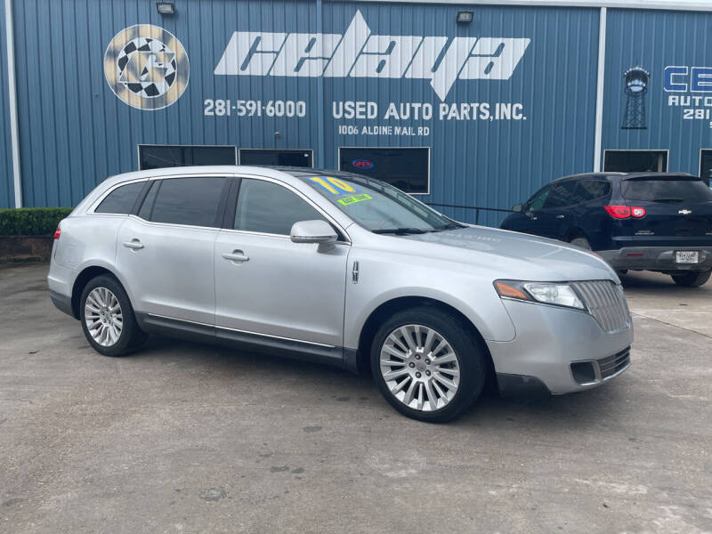 2010 Lincoln MKT for sale at CELAYA AUTO SALES INC in Houston TX