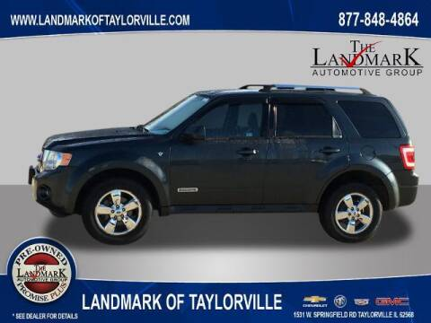 2008 Ford Escape for sale at LANDMARK OF TAYLORVILLE in Taylorville IL