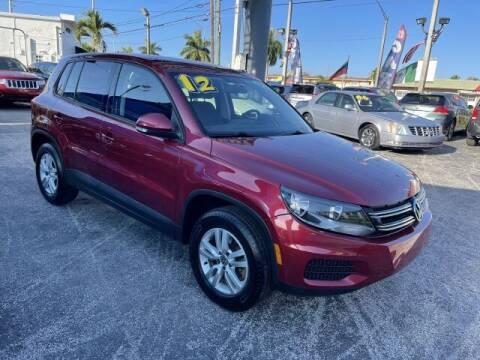 2012 Volkswagen Tiguan for sale at Brascar Auto Sales in Pompano Beach FL