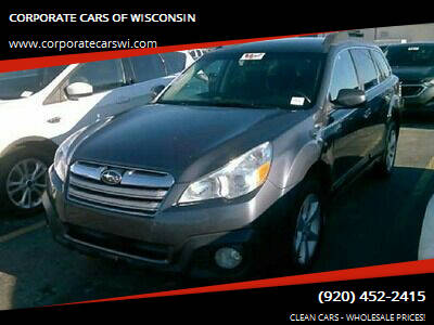 2014 Subaru Outback for sale at CORPORATE CARS OF WISCONSIN in Sheboygan WI