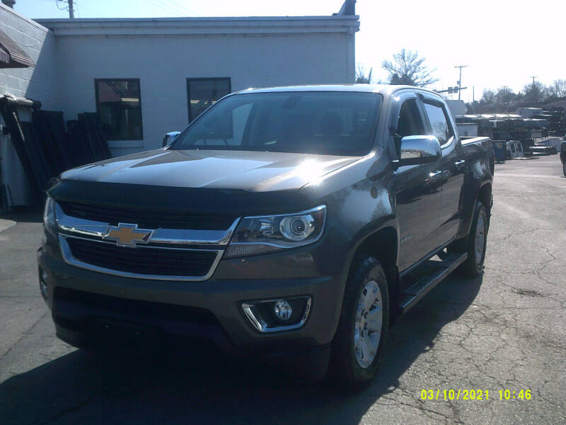2016 Chevrolet Colorado for sale at M & M Inc. of York in York PA