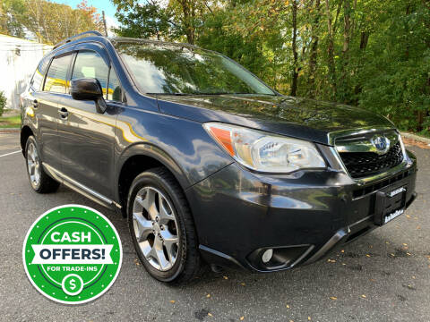 2015 Subaru Forester for sale at AUTO TRADE CORP in Nanuet NY