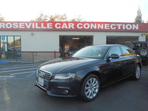 2012 Audi A4 for sale at ROSEVILLE CAR CONNECTION in Roseville CA