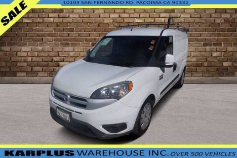 2016 RAM ProMaster City Cargo for sale at Karplus Warehouse in Pacoima CA