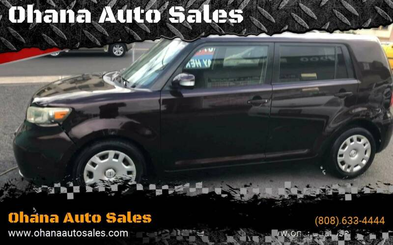 2008 Scion xB for sale at Ohana Auto Sales in Wailuku HI