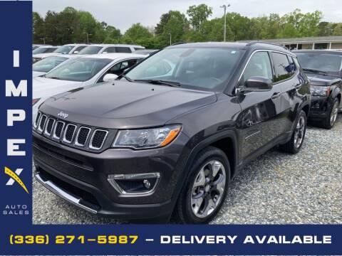 2020 Jeep Compass for sale at Impex Auto Sales in Greensboro NC