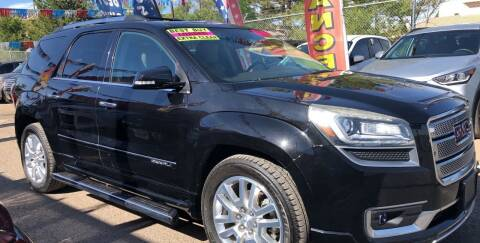 2016 GMC Acadia for sale at Duke City Auto LLC in Gallup NM