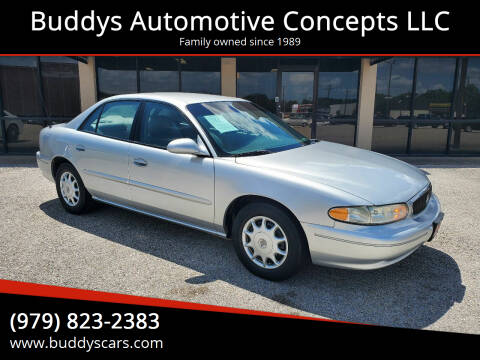 2003 Buick Century for sale at Buddys Automotive Concepts LLC in Bryan TX