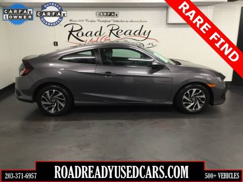 2018 Honda Civic for sale at Road Ready Used Cars in Ansonia CT