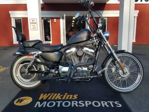 2013 Harley-Davidson Sportster Seventy-Two for sale at WILKINS MOTORSPORTS in Brewster NY