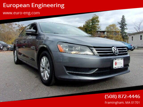 2015 Volkswagen Passat for sale at European Engineering in Framingham MA