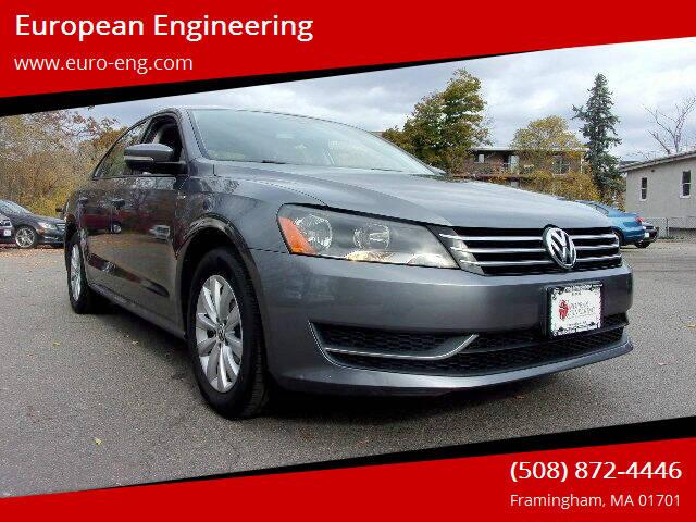 2015 Volkswagen Passat for sale at European Engineering in Framingham MA
