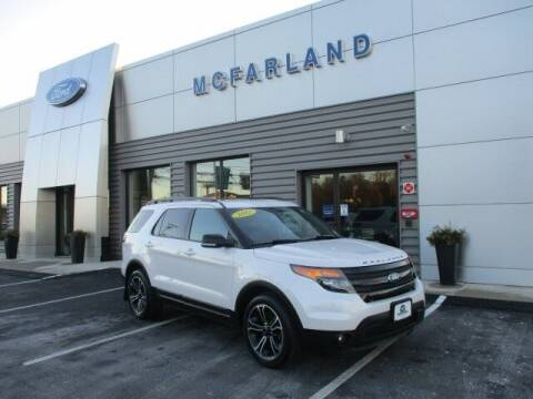 2015 Ford Explorer for sale at MC FARLAND FORD in Exeter NH