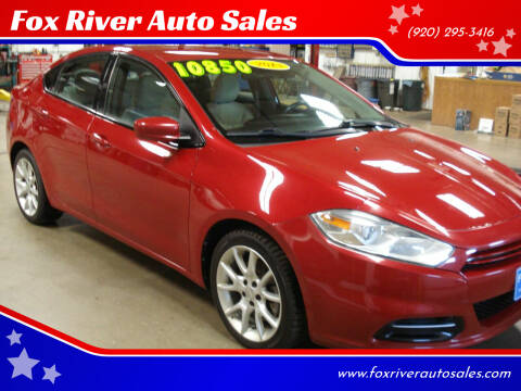 2013 Dodge Dart for sale at Fox River Auto Sales in Princeton WI