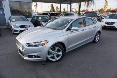 2015 Ford Fusion for sale at Industry Motors in Sacramento CA