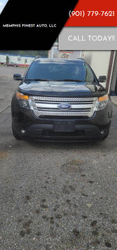 2013 Ford Explorer for sale at Memphis Finest Auto, LLC in Memphis TN