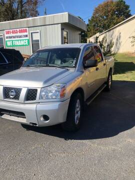2007 Nissan Titan for sale at BRYANT AUTO SALES in Bryant AR