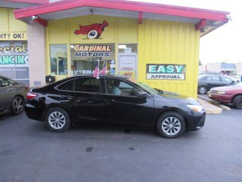 2017 Toyota Camry for sale at Cardinal Motors in Fairfield OH
