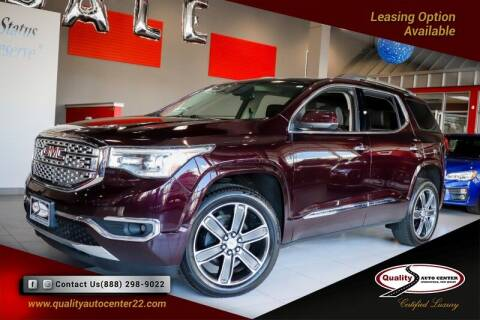 2018 GMC Acadia for sale at Quality Auto Center of Springfield in Springfield NJ