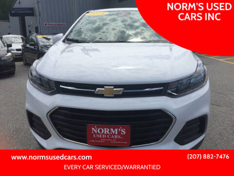 2018 Chevrolet Trax for sale at NORM'S USED CARS INC in Wiscasset ME