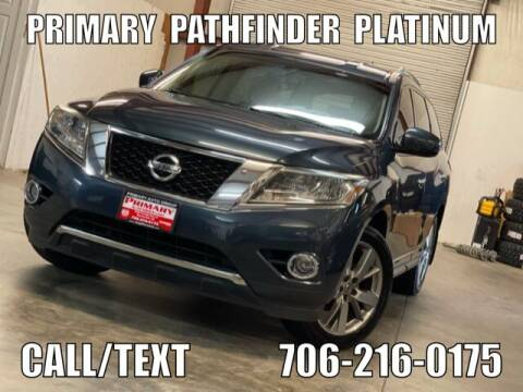 2013 Nissan Pathfinder for sale at Primary Auto Group in Dawsonville GA