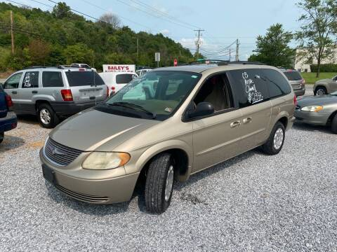 2003 Chrysler Town and Country for sale at Bailey's Auto Sales in Cloverdale VA