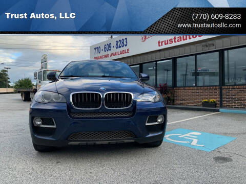 2014 BMW X6 for sale at Trust Autos, LLC in Decatur GA