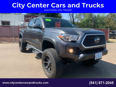 2019 Toyota Tacoma for sale at City Center Cars and Trucks in Roseburg OR
