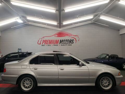 2002 BMW 5 Series for sale at Premium Motors in Villa Park IL