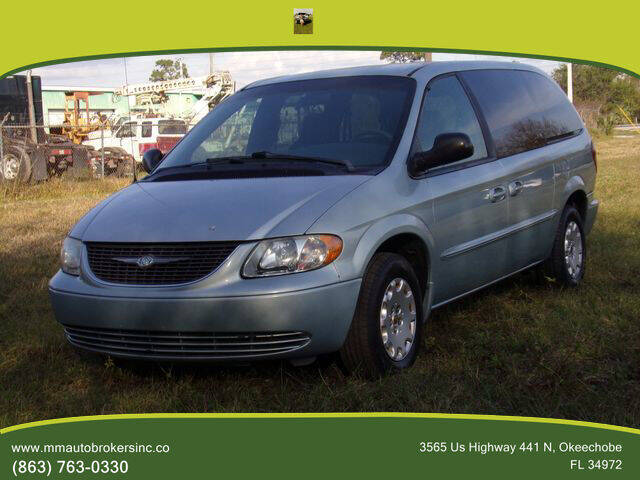 2002 Chrysler Town and Country for sale at M & M AUTO BROKERS INC in Okeechobee FL