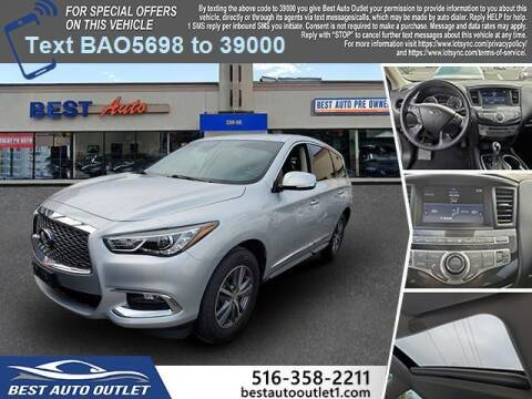 2019 Infiniti QX60 for sale at Best Auto Outlet in Floral Park NY