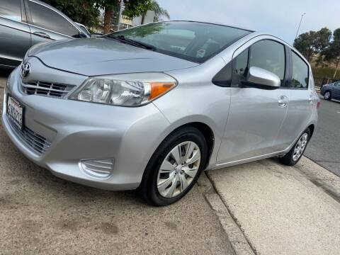 2012 Toyota Yaris for sale at Beyer Enterprise in San Ysidro CA