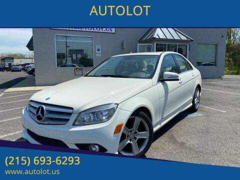 2010 Mercedes-Benz C-Class for sale at AUTOLOT in Bristol PA