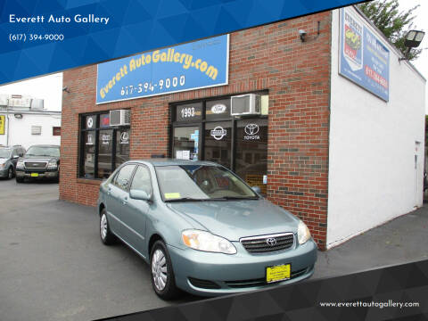 2005 Toyota Corolla for sale at Everett Auto Gallery in Everett MA