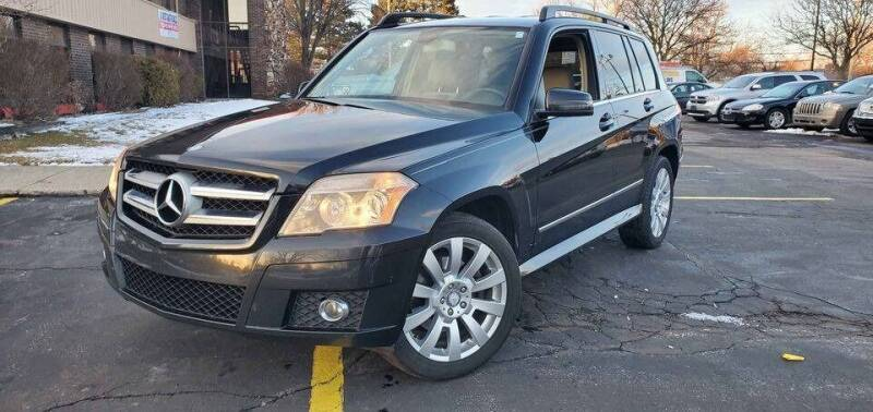 2010 Mercedes-Benz GLK for sale at Cj king of car loans/JJ's Best Auto Sales in Troy MI