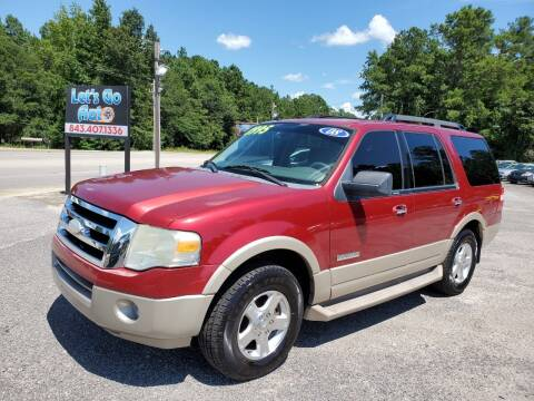 2008 Ford Expedition for sale at Let's Go Auto in Florence SC