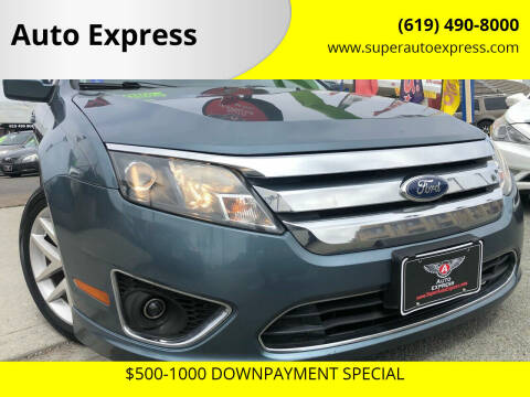 2012 Ford Fusion for sale at Auto Express in Chula Vista CA