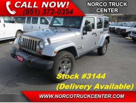 2013 Jeep Wrangler Unlimited for sale at Norco Truck Center in Norco CA